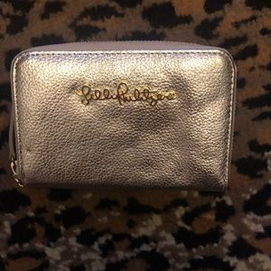 EUC gold Lilly Pulitzer wallet